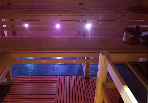Kachel sauna
