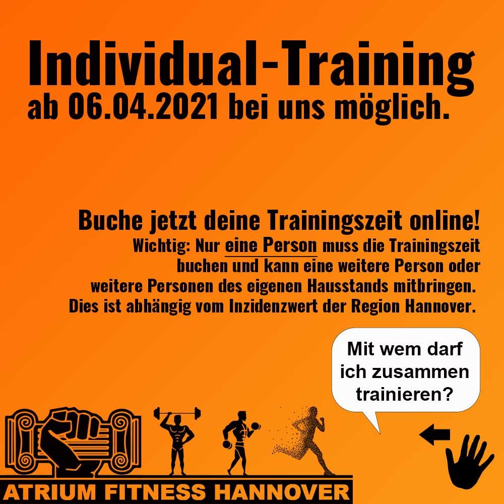 Individual Training Infografik